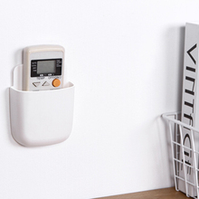 1 шт. настенный смонтированный Органайзер коробка для хранения сильная настенная присоска держатель для мобильного телефона стойка для домашних запасов пробивная стойка для хранения