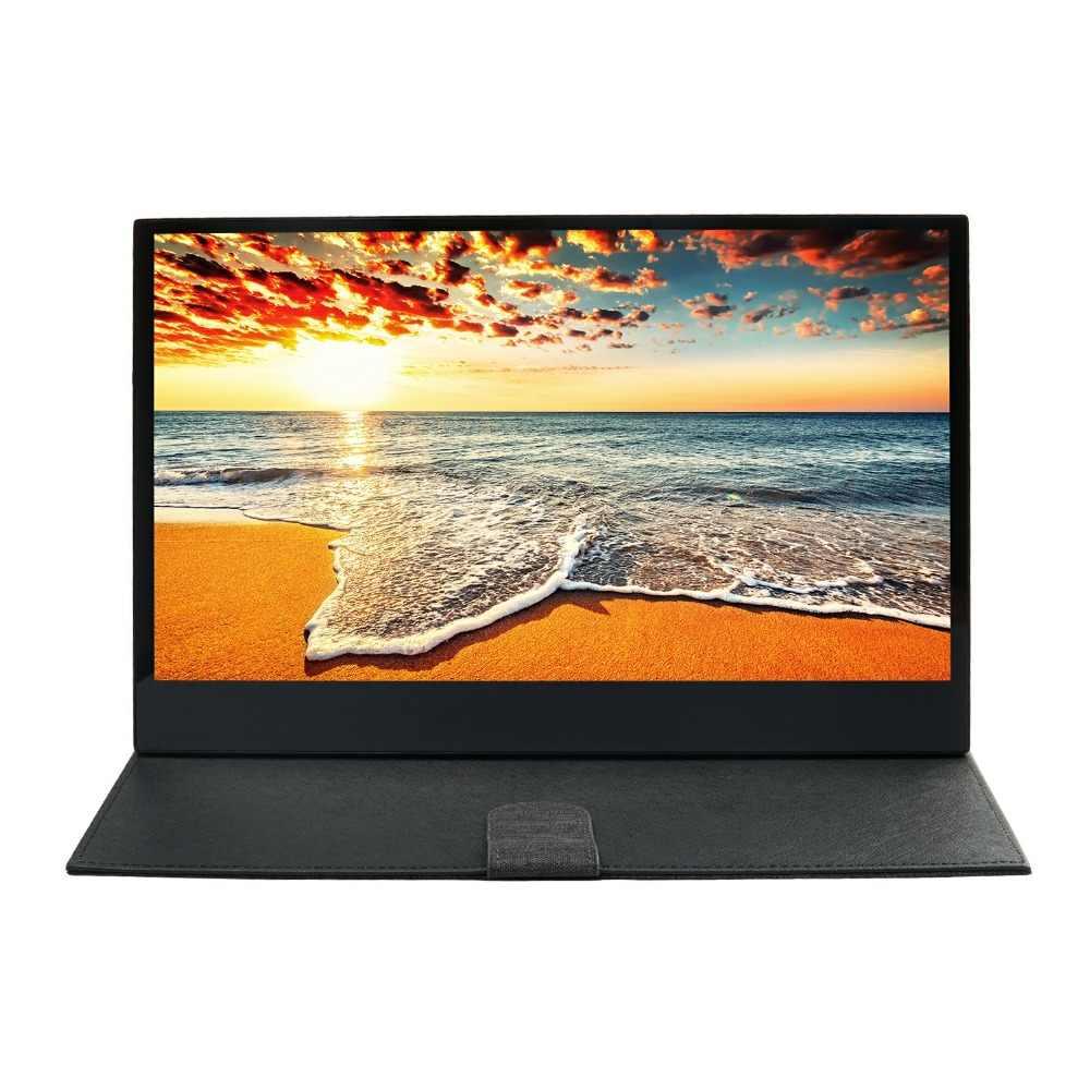 Новый 13,3 дюймов 1080P 16,7 M 72% NTSC портативный компьютерный монитор USB C сенсорный экран дисплей для планшета ноутбука