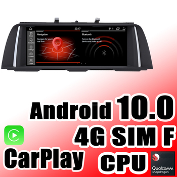 Car Navi GPS Navigation Android 10 For BMW 5 F10 F11 F18 M5 520 530 CIC NBT EVO Audio iDrive Carplay Multimedia Stereo System image