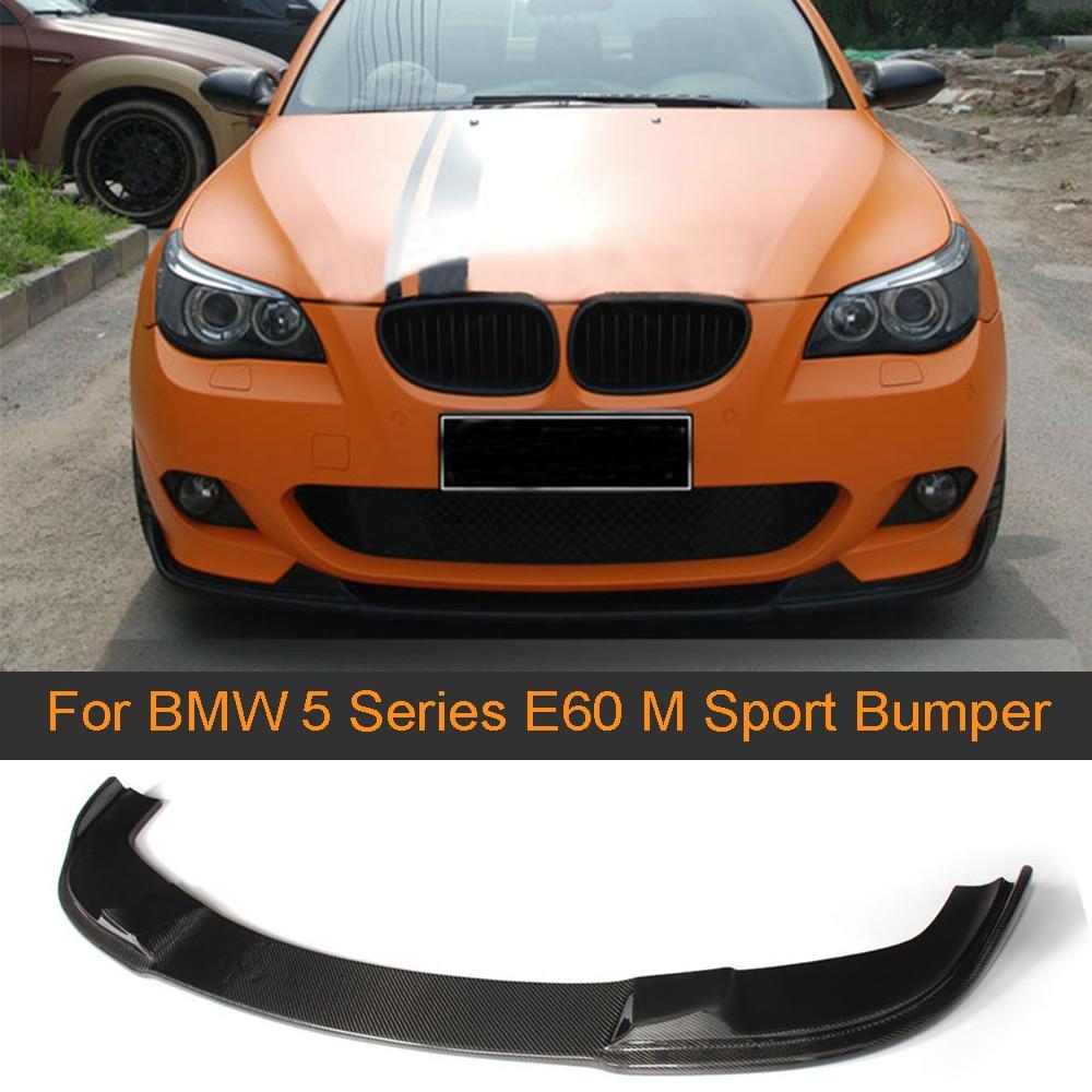 Carbon Fiber Rear Trunk Spoiler Wing For BMW 5-Series E60 520i 528i 523i 04-10