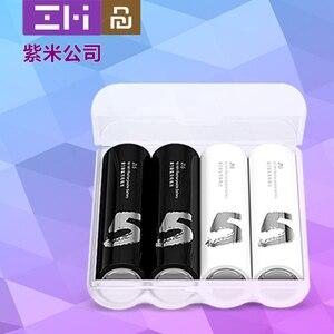 Image 5 - Youpin zmi zi5 aa/aaa ni mh carregador de bateria com 4 slots carregador de bateria portátil sem porta usb