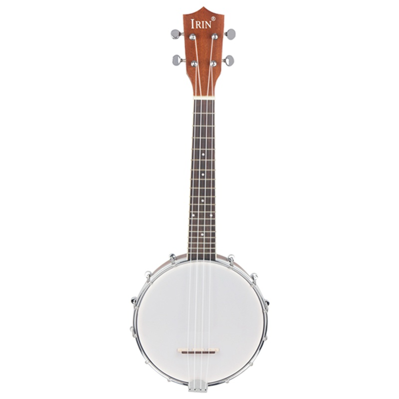 New IRIN 23 Inch Sapele Nylon 4 Strings Concert Banjo Uke Ukulele Bass Guitar Guitarra For Musical Stringed Instruments Lover Gi