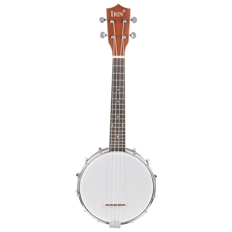 Nouveau IRIN 23 pouces Sapele Nylon 4 cordes Concert Banjo Uke ukulélé basse guitare guitare pour l'amateur d'instruments à cordes de musique Gi
