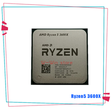 CPU Processor 3600x3.8-Ghz R5 Amd Ryzen AM4 Six-Core 7NM L3--32m 100-000000022-Socket