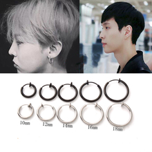 1 Piece Fashion Fake Nose Ring Goth Punk Lip Ear Nose Clip On Fake Septum Piercing Nose Ring Hoop Lip Hoop Rings Earring cheap Stainless Steel Nose Rings Studs TRENDY ROUND Metal 200003778 200000869 Nose Ring Septum Fake Piercing Earrings Rings