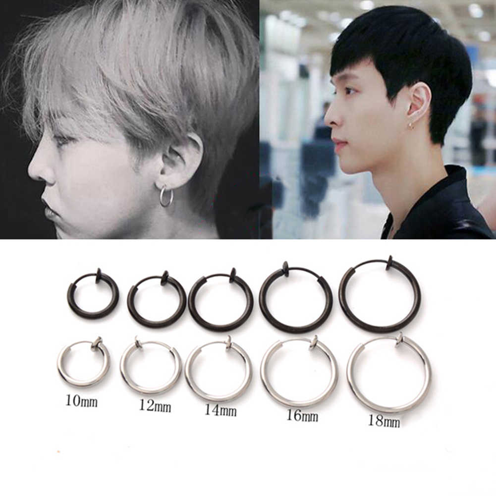 Body Jewelry 1 Piece Fake Nose Ring Goth Punk Lip Ear Nose