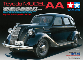 Tamiya 24339 1/24 Scale Toyoda Model AA Vintage Cars Display Collectible Toy Plastic Assembly Building Model Kit