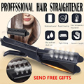 Выпрямитель для волос четырехзубчатая регулировка температуры керамический турмалиновый плоский утюжок женский выпрямитель для волос ра...