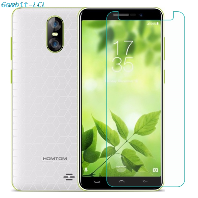 Tempered Glass for HomTom C8 H5 S12 S99 HT50 S16 S8 HT16 HT17 S17 H10 Pro Screen Protector Phone Protective GLASS film cover(China)