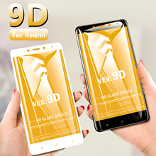 Tempered glass 9D full cover  High Quality screen srotector for Red mi 7 6 7Pro protective 4X/5/5A