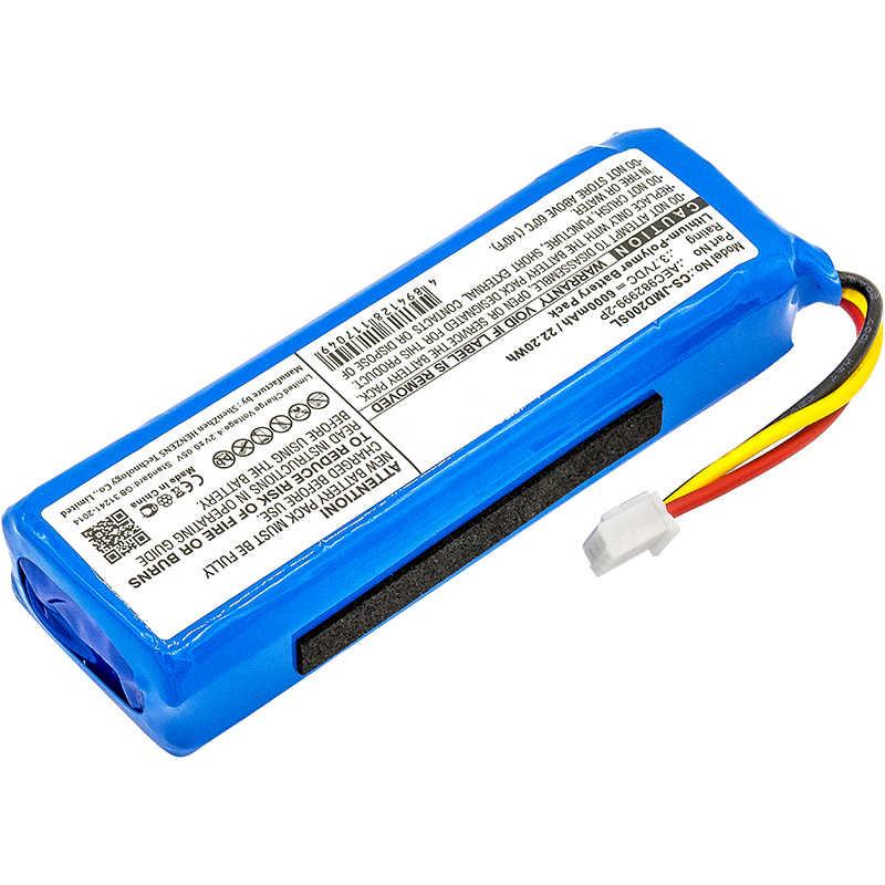 AEC982999-2P Bluetooth динамик батарея CS-JMD200SL для JBL Зарядка батареи 3,7 V 6000mAh аккумулятор Аки batarya