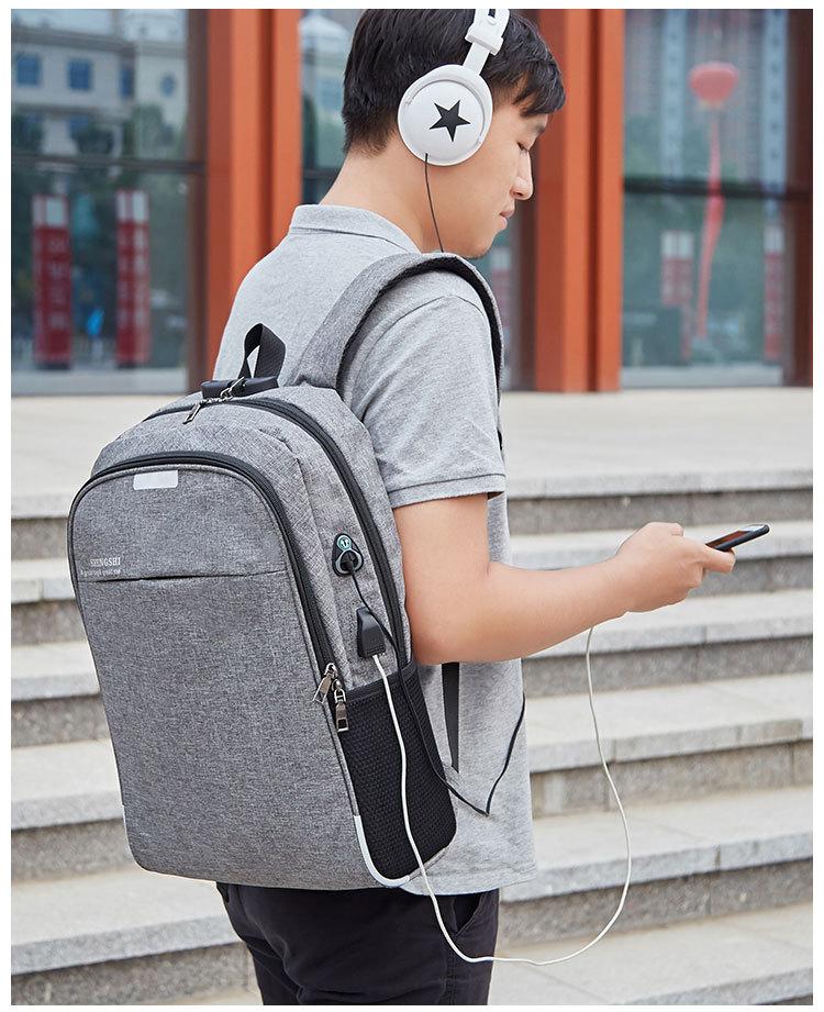 Multi-function Computer Backpack Anti-theft Backpack USB Charging Backpack Laptop Shoulder Bag Millet Backpack
