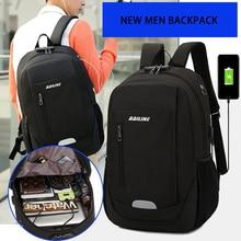 Nueva mochila antiladrones a la moda 2020 para hombres, mochila para ordenador portátil, bolso de hombro impermeable para hombres, mochila
