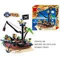 211 шт./178 шт. Пираты  корабль  грузовик  блоки  комплект  3D Строительные блоки  сделай сам  развивающие игрушки для детей  совместимые с Lepining