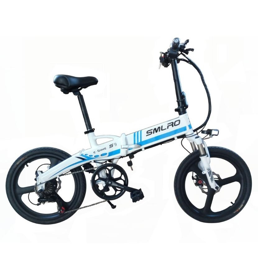 S9 2019 New Foldable E bike /electric Bicycle 48v 10ah 350w With Lcd Digital Display Control Instrument bicycle star|Electric Bicycle| |  - title=