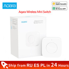 Xiaomi Aqara Wireless Mini Switch Zigbee Connection Versatile 3-Way Control Button for Smart Home Devices Work With Mi home APP