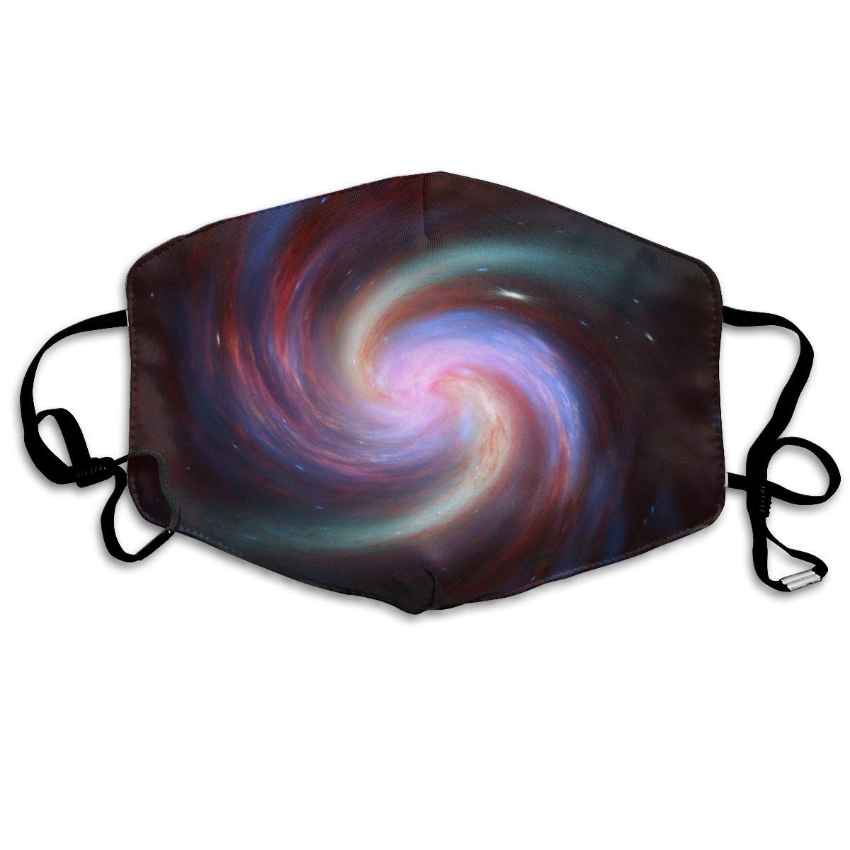 Spiral Strudel Cigar Galaxy Washable Reusable   Mask, Cotton Anti Dust Half Face Mouth Mask For Kids Teens Men Women With