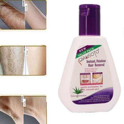 Hot Painless Hair Removal Powerful Permanent Hair Removal Cream Stop Hair Growth Inhibitor Removal for Soft Smooth Skin Beauty Lahore