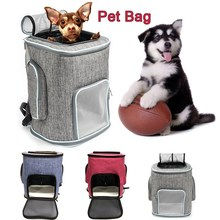 Pet Carrier Large Capacity Backpack Bag for Cat Dog Foldable Carrying 3 Colors Products Drop shipping