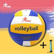 Material do pvc qualidade esportes mais recente jogo de voleibol bola de treinamento padrão do jogo especificação oficial voleibol