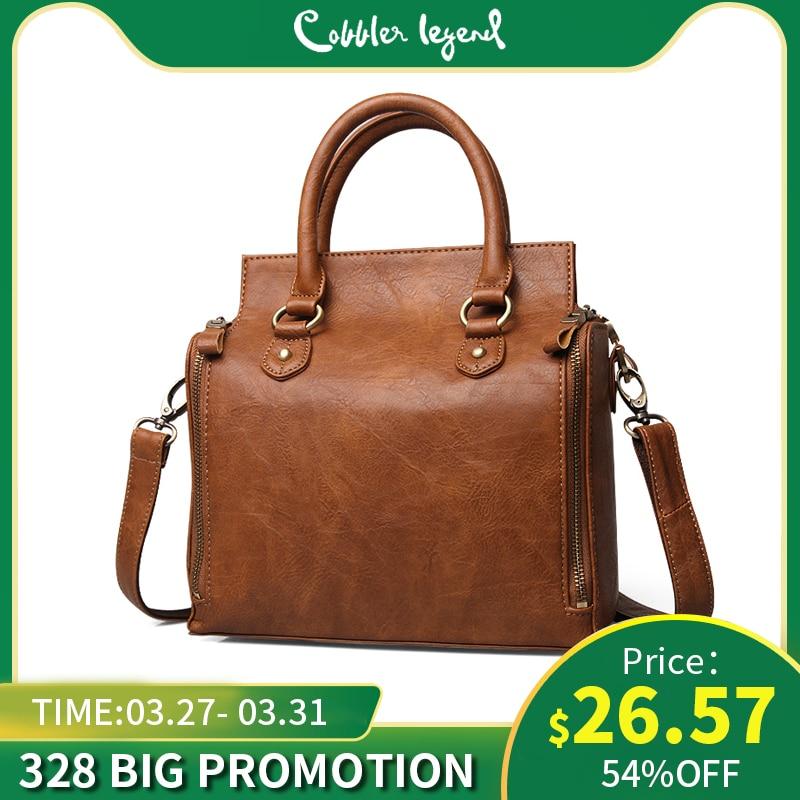Cobbler Legend Crossbody Bags For Women Tote Bag Handbags Faux Leather Luxury Multifunctional Large Capacity Designer Purse