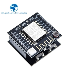 TZT ESP8266 ESP-12F Serial WIFI Module Mini Development Board For Arduino Nodemcu CH340 Micro USB Module For Arduino Witty Cloud