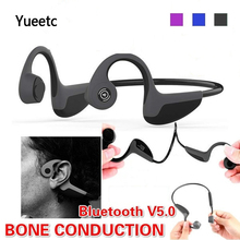3 Colors Bone Conduction Bluetooth Earphone wireless bluetooth headphone with microphone By Sweatproof Headset