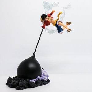 Image 1 - Anime Action Figure Een Stuk Gear Vierde Scultures Grote Aap D Luffy Battle Vechten Speciale Kleur Ver 26Cm Pvc speelgoed Pop