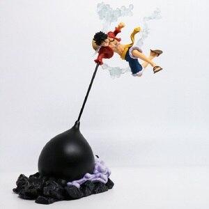 Image 1 - アニメのアクションフィギュアワンピースギア第四sculturesビッグモンキー · d · ルフィ決戦戦闘特別ver 26センチメートルpvcおもちゃ人形
