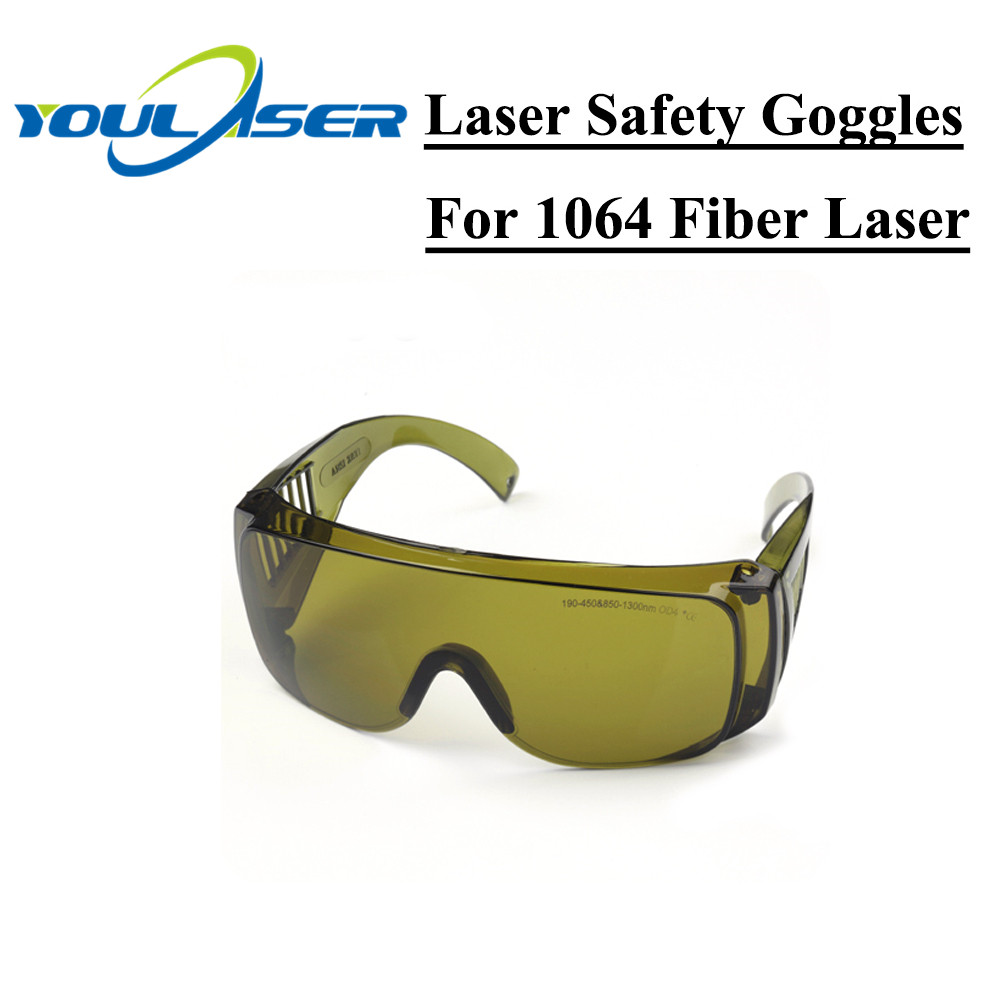 1064nm Laser Protective Goggles Style B Laser Safety Goggles 850-1300nm OD4 CE For Fiber Laser