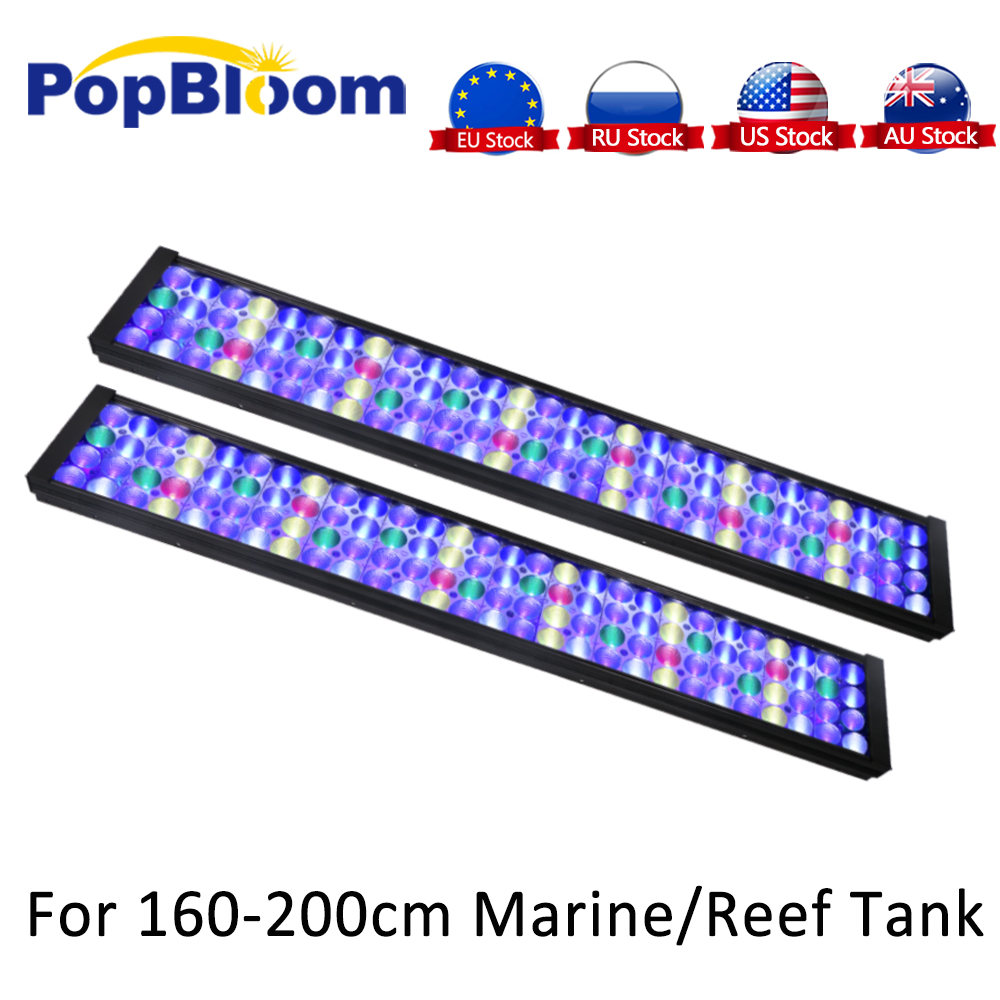 Aquarium Light Full Spectrum Programmable LED Aquarium Lighting For Marine Fish Tank Light Turing75