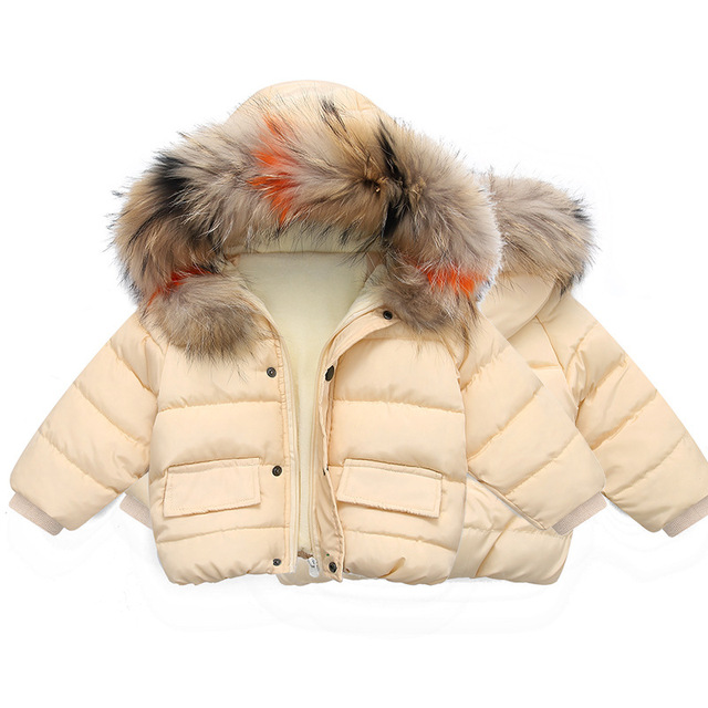 Thickened Padded Baby Jacket with Hood 5