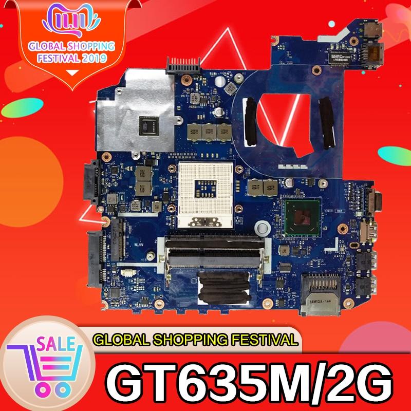 For ASUS K45VM K45VD A45V K45VJ K45VS A85V P45VJ QCL40 LA-8221P REV1.0 GT635M 2G Laptop Motherboard System Mainboard
