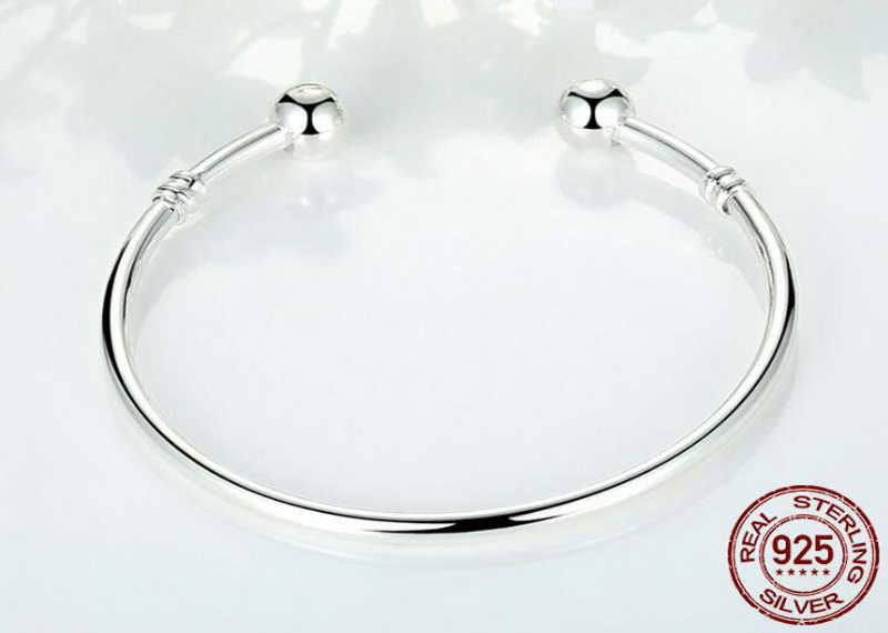 YANHUI 100% oryginalny 925 solidna srebrna bransoletka Fit europejskiej Charms koraliki bransoletka srebro 925 biżuteria DIY prezent dla kobiet