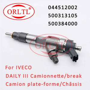 Common Rail Injector 0445120002 Diesel Nozzle 500313105 Sprayer 500384000 For IVECO DAILY III Camionnette Plate Forme Chassis