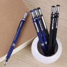 1Pc 2.0mm Black Lead Holder Drafting Drawing Study Stationery Mechanical Pencil Professional Student for School Office