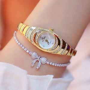 Image 2 - 여자의 시계 2020 뜨거운 판매 럭셔리 시계 석영 작은 다이얼 숙녀 로즈 골드 시계 여성 패션 시계 여성 시계