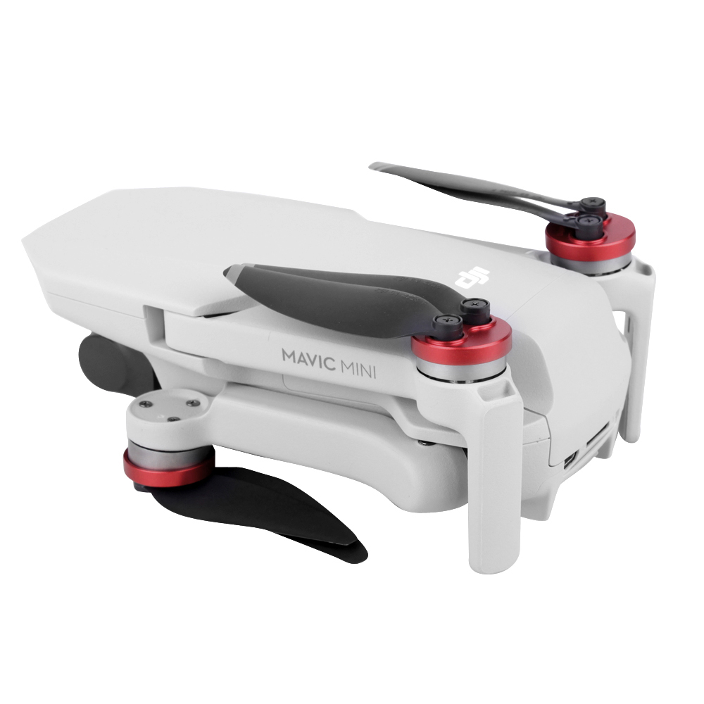 Updated Mavic Mini Motor Covers Scratch Proof Propellers Aluminum Alloy Engine Protective Cover for DJI Mavic Mini Accessories