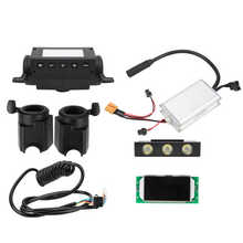Headlight E-Scooter-Controller-Set KUGOO Electric-Scooter Throttle-Display-Panel 36V