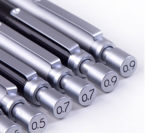 Автоматический карандаш Deli, металлический карандаш с низким уровнем тяжести 0,9 мм, профессиональный механический карандаш для рисования и ...