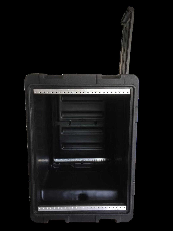 New Arrive! Hot Sale! Tricases Factory IP65 Waterproof Shockproof Dustproof Rotational Molded 8U Simple Rack Cases