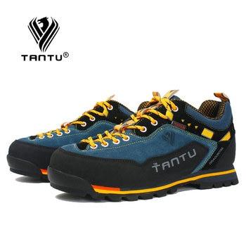 TANTU Waterproof Hiking Shoes Mountain Climbing Shoes Outdoor Hiking Boots Trekking Sport Sneakers Men Hunting Trekking 3