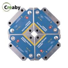 4 sztuk/zestaw 28LBS magnetyczne uchwyty spawalnicze multi-angle lutowane strzałka magnes spoina Fixer pozycjoner pomocniczy lokalizator narzędzia