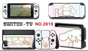 Image 4 - Adesivo Skin per schermo in vinile adesivi protettivi per pelli di cane alloro per Nintendo Switch NS Console + Controller + adesivo per supporto