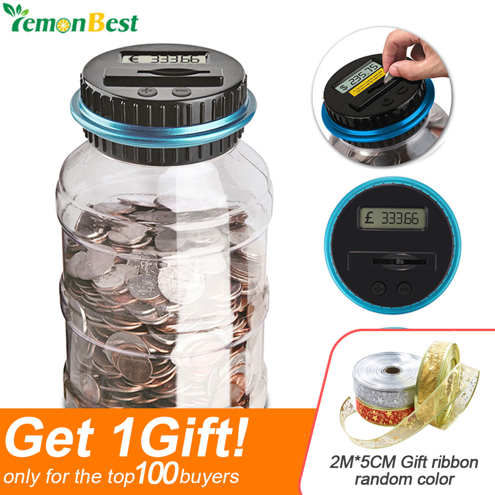 Top 9 Most Popular Digital Money Coin Jar Ideas And Get Free Shipping A887
