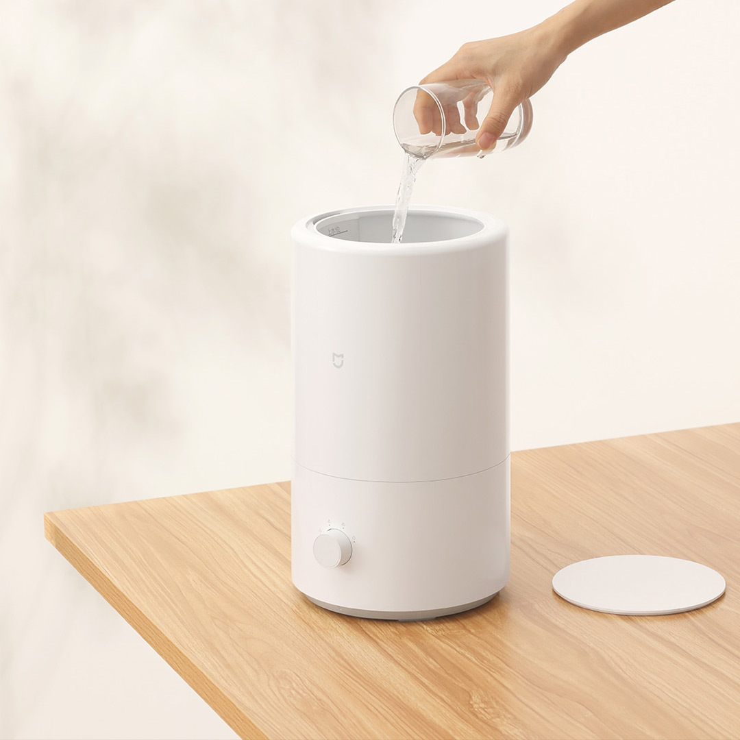 Xiaomi Mijia Smart Humidifier 25W 4L 300ml/h Heavy Fog Volume Constant Temperature Silver Ion Antibacterial Air Purifier 6