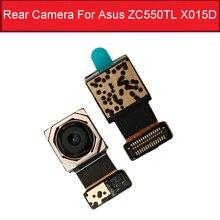 Voorkant & Back Rear Camera Module Voor Asus Zenfone Peg Asus 4S Max Plus X018DC ZB570TL Kleine Belangrijkste camera Vervangende Onderdelen