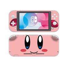 Kirby estrela aliados nintendoswitch pele adesivo decalque capa para nintendo switch lite protetor nintend interruptor lite pele adesivo