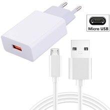 5V 2A Wall Charger Adapter Usb-kabel Voor Kat S62 Pro S52 Energizer Ultieme U710S Htc Een M7 8 9 Desire 19S 12S 20 Pro U20 5G