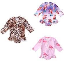 Bikini-Set Bathing-Suit Swimwear Beachwear Tankini Baby-Girls Toddler Cartoon Hot Summer